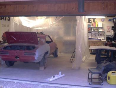 how to make paint booth in garage Garage Design Ideas